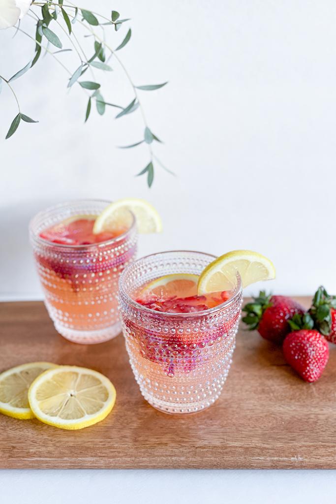 Strawberry Lemon Mimosa