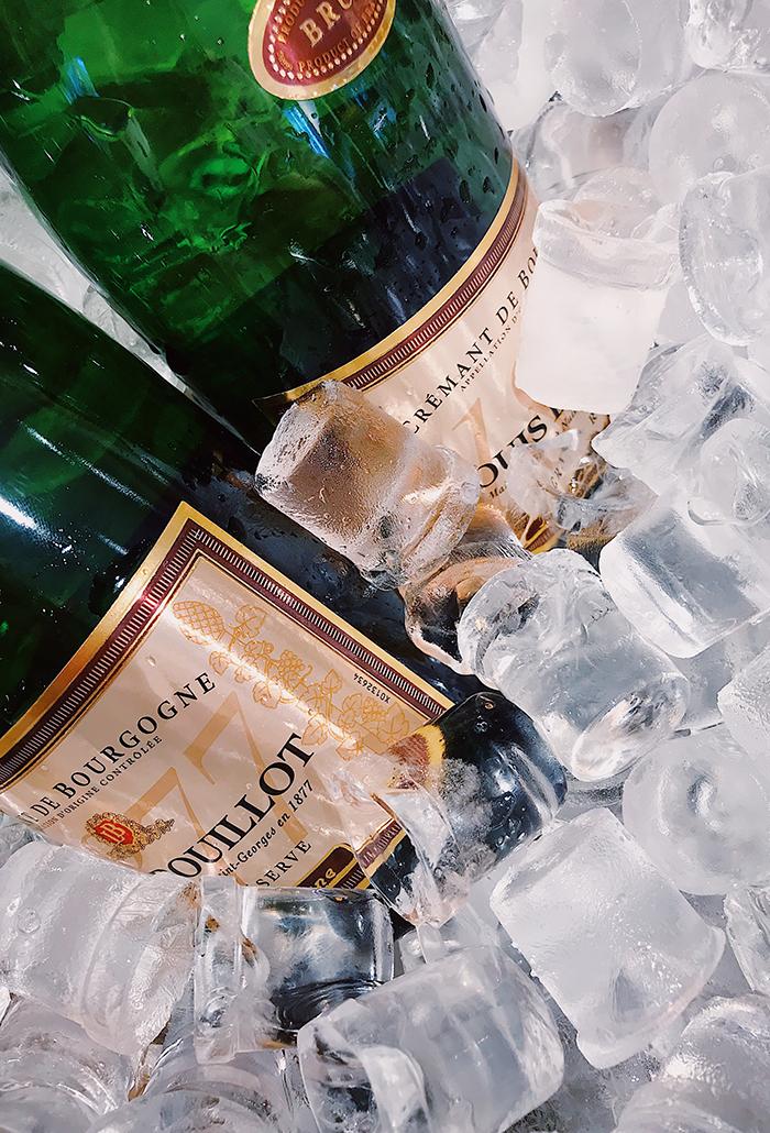 Starburst Champagne Cocktail